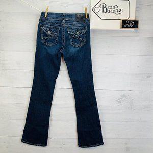 Silver Jeans Suki Surplus Bootcut Denim W26 L30